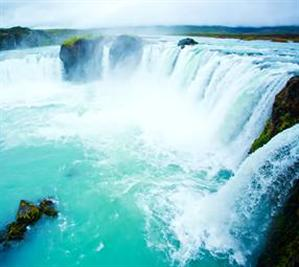 The Waterfalls of the Gods /Godafoss