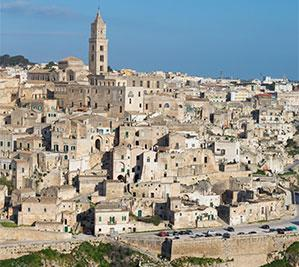 Matera: Sassi area and Cathedral