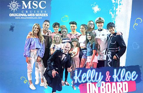 MSC CRUISES EXPANDS AWARD-WINNING FAMILY OFFERING TO INCLUDE NEW CREATIVE WORKSHOPS IN CONTENT CREATION