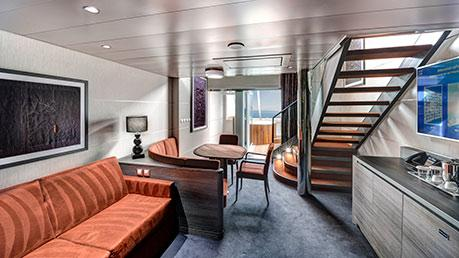 MSC YACHT CLUB DUPLEX SUITE