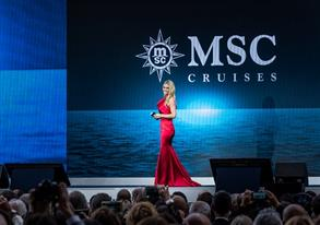 THE COUNTDOWN IS ON: MICHELLE HUNZIKER WILL HOST THE CHRISTENING OF MSC GRANDIOSA IN HAMBURG