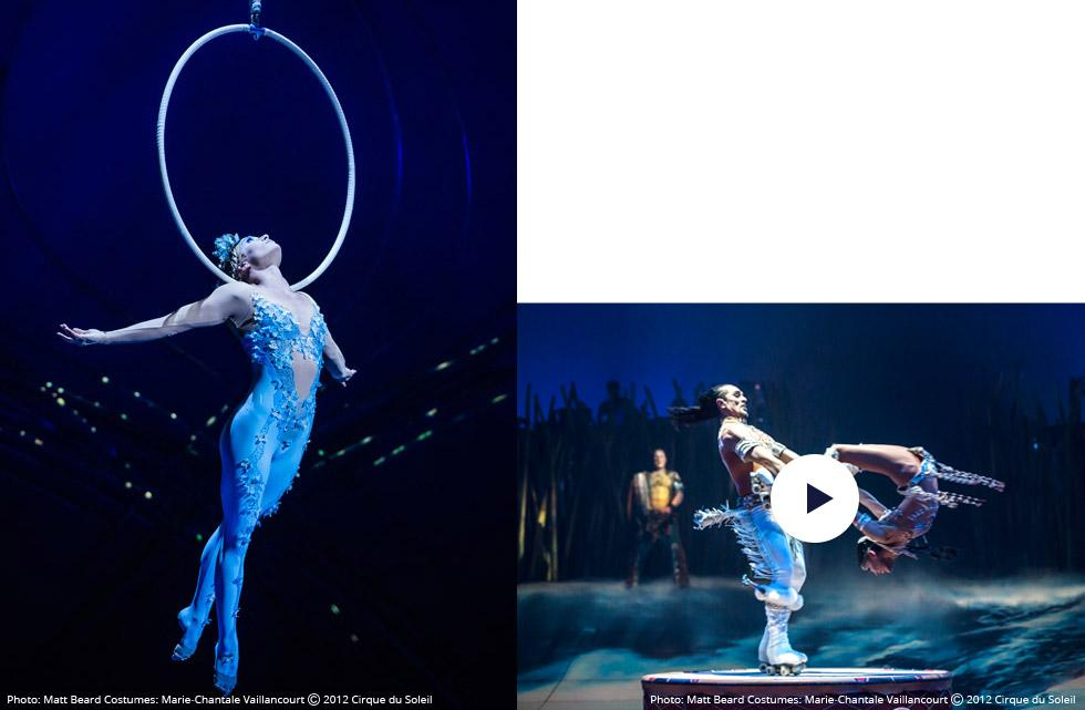 Cirque du Soleil shows created exclusively for MSC