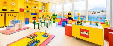 ON BOARD LEGO® PLAY AREA