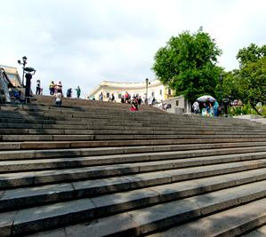 The famous Potemkin Stairs