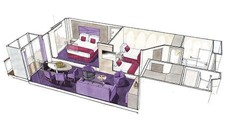 TWO-BEDROOM GRAND SUITE*
