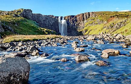 A Delightful Stroll through the Icelandic Fjords