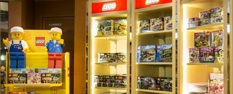THE LEGO® TOYS SOLD ON BOARD