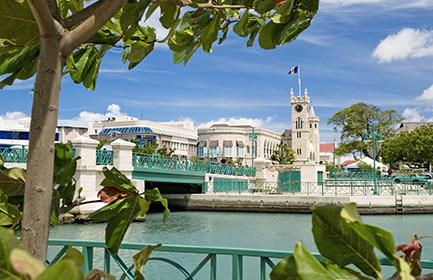The capital of Barbados