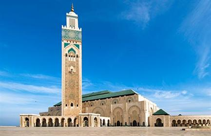 Start planning your cruise and book your excursions in Casablanca, Marrakech, and Rabat