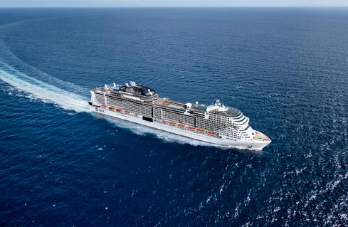 MSC CRUISES EXTENDS FLEET-WIDE HALTING OF OPERATIONS THROUGH TO 29 MAY