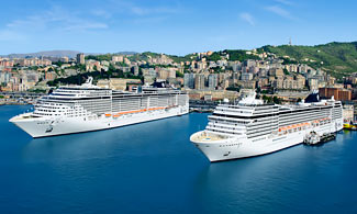 Start of a €5.5 billion investment programme to build the world's most modern cruise fleet.