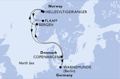 Germany, Norway, Denmark