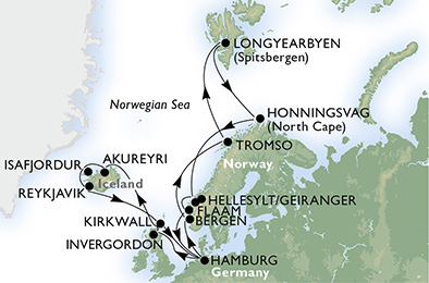 Germany, Norway, Svalbard and Jan Mayen Islands, United Kingdom, Iceland