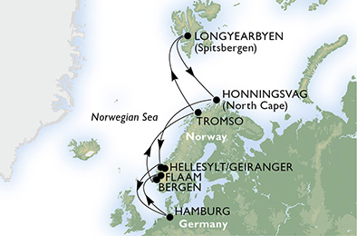 Germany, Norway, Svalbard and Jan Mayen Islands